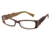 Kliik KLiiK 403 Eyeglasses in 601 Brown Fuchsia