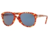Persol PO 0714 Folding Sunglasses in 106056 Tortoise Red / Blue (Discontinued)