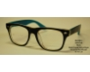 Kiki Kiki 4013 Eyeglasses in Black w/ Crystal - Yellow - Aqua