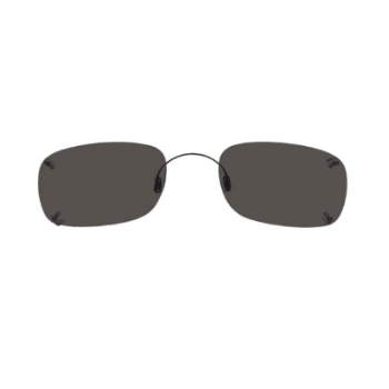 Hilco Rimless Rectangle Sunglasses