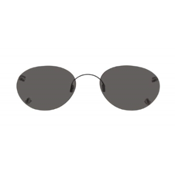 Hilco Rimless Oval Sunglasses