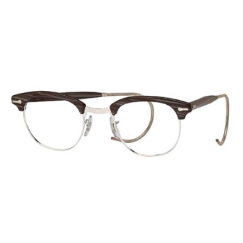 Shuron Ronsir Zyl w/ Cable Temples Eyeglasses