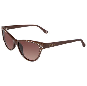 Bebe BB7024 Bejeweled Sunglasses