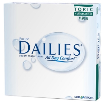 Dailies Focus Dailies Toric 90 Pack Contact Lenses