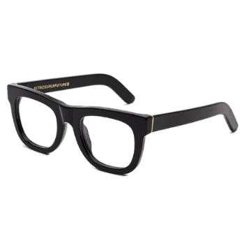 Super Ciccio IAX9 5LN Black Large Eyeglasses