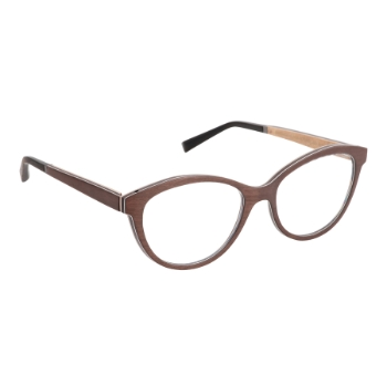 Gold & Wood Dea 01 Eyeglasses