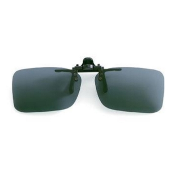 Hilco Flip-Ups Shallow Rectangle Sunglasses