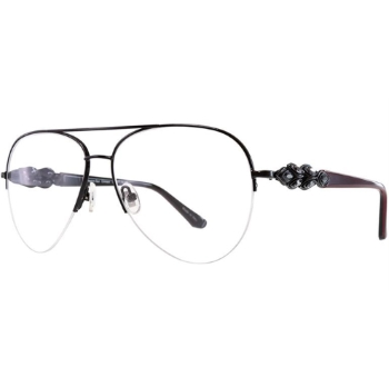 Judith Leiber Couture Passion Metal Eyeglasses