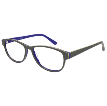 Pure Color Groovy Eyeglasses