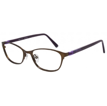Pure Color Sprightly Eyeglasses