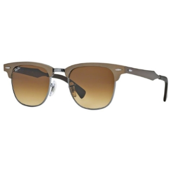 Ray-Ban RB 3507 Clubmaster Aluminum Sunglasses