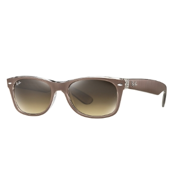 Ray-Ban RB 2132 New Wayfarer Metal Effect Sunglasses