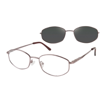 Revolution w/Magnetic Clip Ons REVT33 w/Magnetic Clip-on Eyeglasses