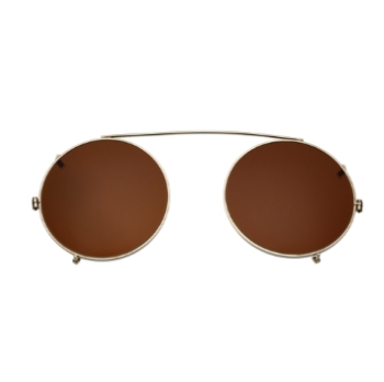 Savile Row Round Clip-On Eyeglasses