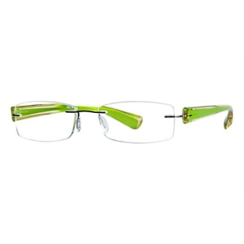 Scojo New York Readers Gel Wide Line Eyeglasses