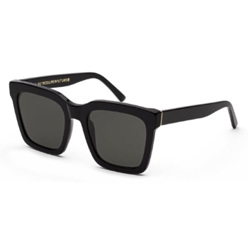 Super Aalto IA7A 01R Black Asian Fit Sunglasses