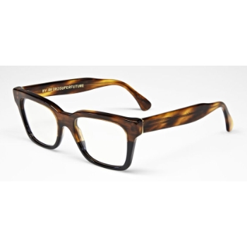 Super America IRVU 805 Havana & Black Large Eyeglasses