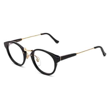 Super Panama I6S0 613 Black Large Eyeglasses