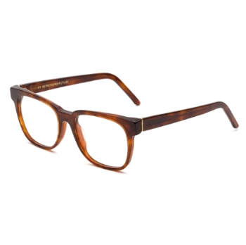 Super People IO15 636 Havana Large Eyeglasses