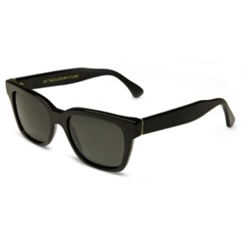 Super America IBQ1 Black Large Sunglasses