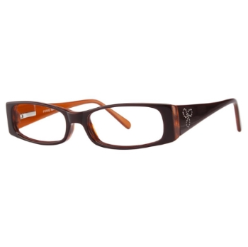 Vivid Womens Embellishment 664 Eyeglasses