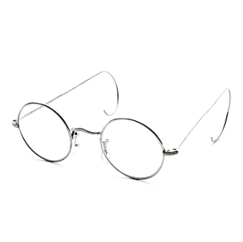 Savile Row 18KT Round (Cable Temples) Eyeglasses