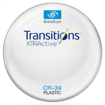 Essilor Transitions® XtrActive® - Plastic CR39 Plano Lenses