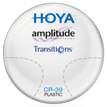 Hoya Hoya Amplitude Transitions® SIGNATURE VII - [Gray]  Plastic CR-39 Progressive Lenses