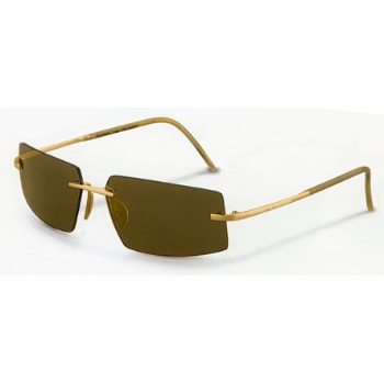 Porsche Design P 8447 18KT Gold Sunglasses