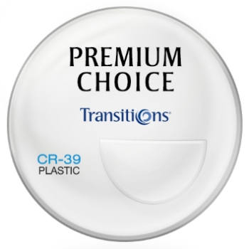 Premium Choice Transitions® Signature 8™ - Plastic CR-39 - Bi-Focal FT-28 Lenses