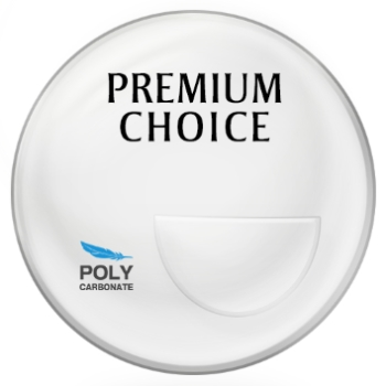 Premium Choice Polycarbonate Bi-Focal FT-28 Lenses