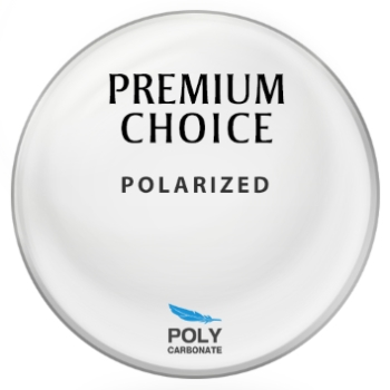 Premium Choice Polarized [Gray] Polycarbonate Plano Lenses