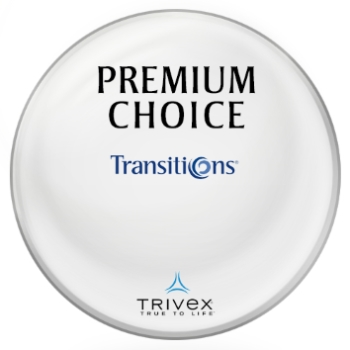Premium Choice Transitions® SIGNATURE VII [Brown] Trivex Lenses