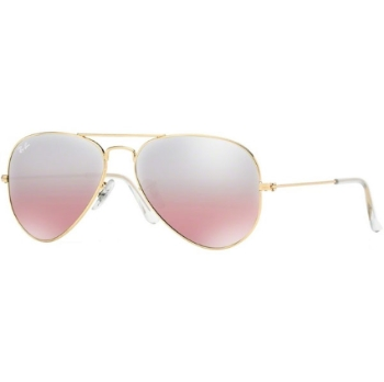 Ray-Ban RB 3025 (Aviator Large Metal with Mirrored Lenses) Sunglasses