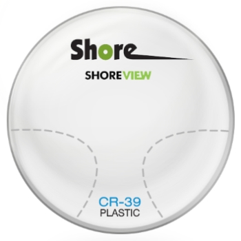 Shore Lens Shore View Plastic CR-39 Progressive Lenses