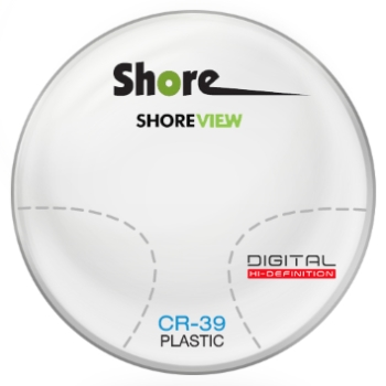 Shore Lens Shore View Digital Plastic CR-39 Progressive Lenses