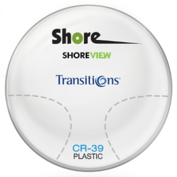 Shore Lens Shore View Transitions® SIGNATURE VII - Plastic CR-39 Progressive Lenses