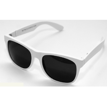 Super Basic I7SC 001 Classic White Large Sunglasses
