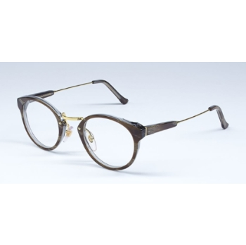 Super Panama I6Q5 SM3 Natural Horn Large Eyeglasses