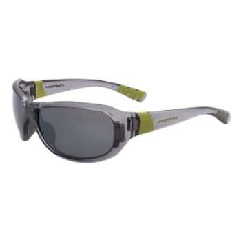 Switch Axo Crystal Cool Grey / True Color Grey Reflection Silver Polarized Glare Kit Sunglasses