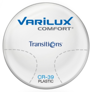 Varilux Varilux Comfort Transitions® SIGNATURE 8 - [Grey or Brown] Plastic CR-39 Progressive Lenses