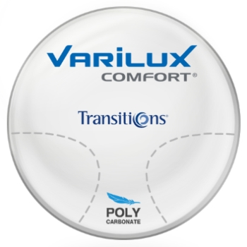 Varilux Varilux Comfort Transitions® SIGNATURE 8 - [Gray or Brown] Polycarbonate Progressive Lenses