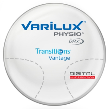 Varilux Varilux Physio DRx® Transitions® Vantage™ Polarizing - Polycarbonate Progressive Lenses