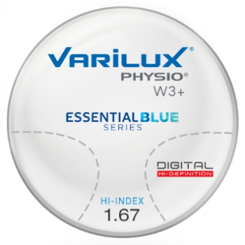 Varilux Varilux Physio W3+ Essential Blue Series Hi-Index 1.67 Progressive Lenses