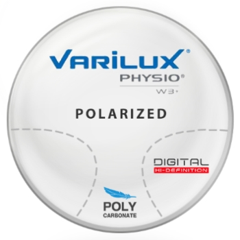 Varilux Varilux Physio W3+ Polarized Brown Polycarbonate Progressive Lenses