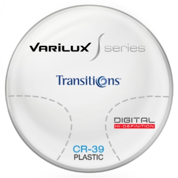 Varilux Varilux S Design Transitions® SIGNATURE 8 [Grey or Brown] CR-39 Plastic Progressive Lenses