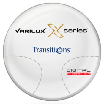 Varilux Varilux X Series™ Transitions® SIGNATURE 8 - [Gray or Brown] 1.67 Progressive Lenses