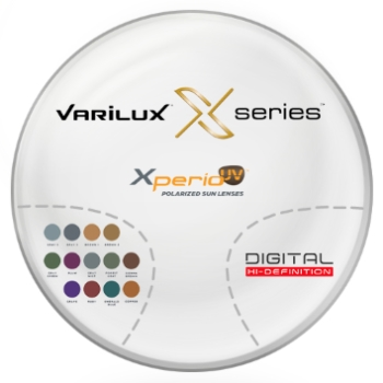 Varilux Varilux X Series™ Xperio UV™ Polarized w/ Back-side AR Coating - Polycarbonate Progressive Lenses