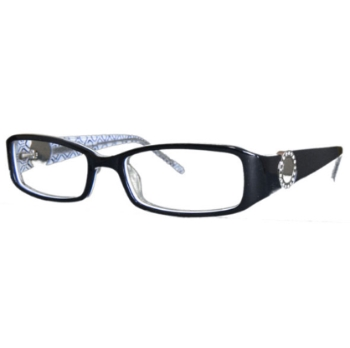 Vivid Womens Embellishment 687 Eyeglasses
