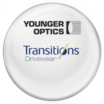 Younger Optics Transitions DriveWear® by Younger Optics - Polarized Photochromic - Plastic CR-39 Lenses